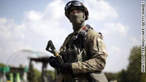 Army: Civilian convoy attacked in Ukraine