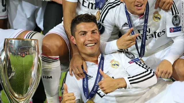 The Real Madrid and Portugal star is regarded as one of the finest players ever to play the game and is also on top of the world in Twitter terms with over 30 million followers on the micro-blogging site.