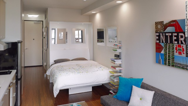 The LEED Platinum Rated SmartSpace SoMa Condo Boasts 295 Square Foot