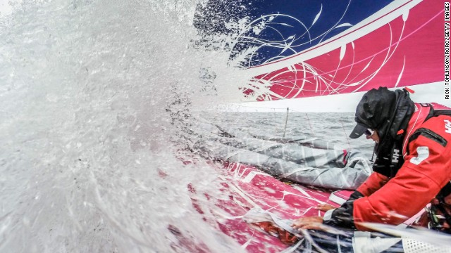 Team SCA competes Tuesday, August 12, in the Round Britain and Ireland Race, a sailing competition that spans 1,800 miles around the British Isles. With a time of 4 days, 21 hours and 39 seconds, the team says it broke the record for an all-female crew on a monohull.