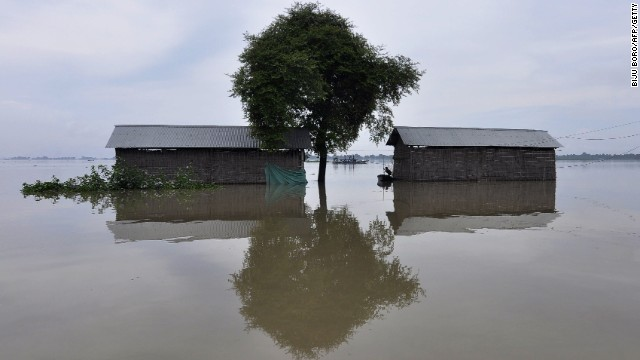 Hundreds of people die every year in floods and landslides during the monsoon season in South Asia.