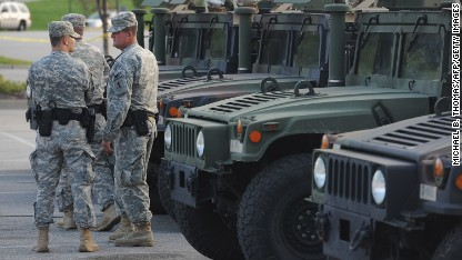 Missouri gov. orders Guard to withdraw