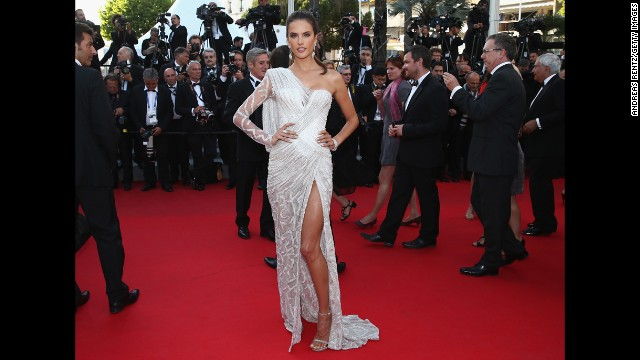 Her own clothing line and deals with H&M and Victoria's Secret secured Brazilian supermodel Alessandra Ambrosio $5 million.