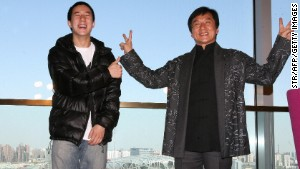 Jackie Chan's son in drugs bust