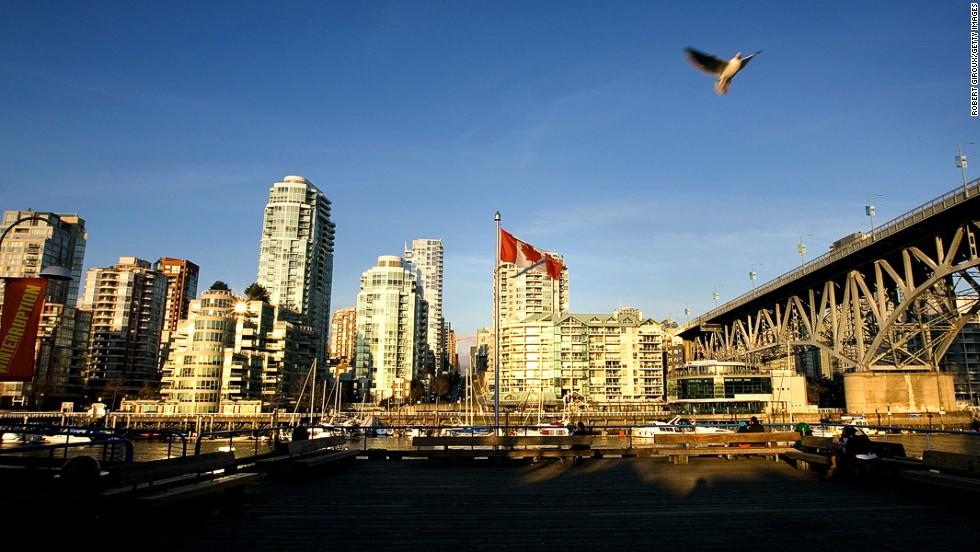3. Vancouver, British Columbia