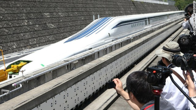 Central Japan Railway plans to launch the new maglev service between Tokyo and Nagoya in 2027, but some fearless passengers have already tested the service out -- hitting 500km/h in June of last year.