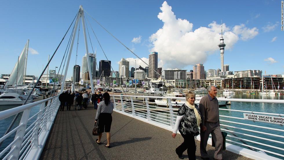 10. Auckland, Nueva Zelandia