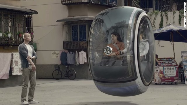 Volkswagen China released a video to announce they had successfully created a flying car and show of its incredible new features. Except it was just a computer-generated fantasy.