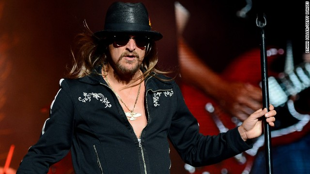 It hardly seems possible, but Kid Rock, 43, is about to become a grandfather. The rocker's son, Bobby Ritchie Jr., is <a href='http://www.usmagazine.com/celebrity-news/news/kid-rock-grandfather-son-bobby-ritchie-jr-expecting-baby-2014178' target='_blank'>reportedly expecting his first child.</a> Here are some other young Hollywood grandparents.