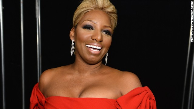 """Reality star NeNe Leakes prefers the term """"Glam-ma."""" Her son Bryson and his girlfriend, Ashley Hill, welcomed a daughter in 2012. Leakes was 45."""