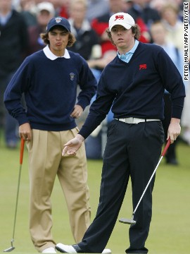 Fowler was pipped to two major titles by Northern Ireland's Rory McIlroy in 2014 but the pair go way back, first meeting in the 2007 Walker Cup -- the amateur equivalent of the Ryder Cup. Fowler was victorious in his match against McIlroy as the U.S. won 12½ - 11½ against Great Britain and Ireland in County Down.
