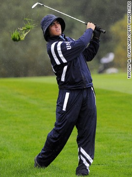 The 25-year-old made his debut in the biennial battle between Europe and the U.S. at Celtic Manor in Wales in 2010. Though Fowler didn't win any of his three matches, he was instrumental in rescuing a half-point from two matches as the U.S. lost by one point.