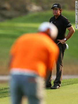 Fowler played with Ryder Cup veteran Phil Mickelson in the final round of the U.S. PGA as both vied for the title. Mickelson famously hired a ping pong coach to help him in the team room competitions at the 2013 Presidents Cup.