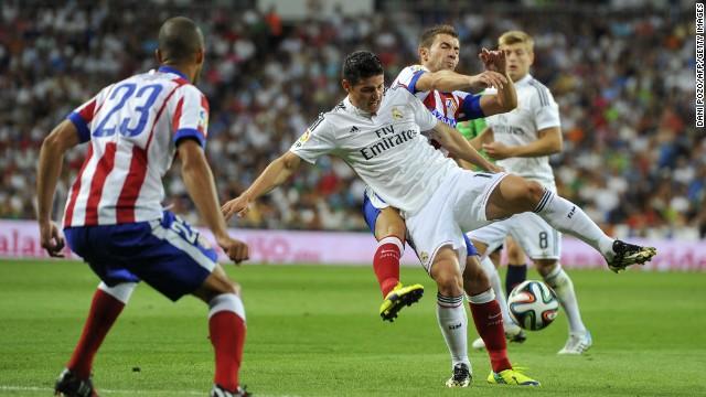 Real Madrid y Atlético empatan 1-1 en el primer partido de la Supercopa de España