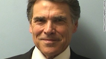 A confident Rick Perry hits the road after indictment