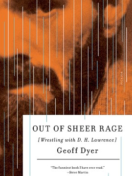 """One of Lawrence's enduring pleasures was to rant on about the awfulness of wherever he happened to be. Perhaps this is why Italy held such a special place in his affections: it provided constant fuel for his temper."" -- <i>Out of Sheer Rage</i>, Geoff Dyer"