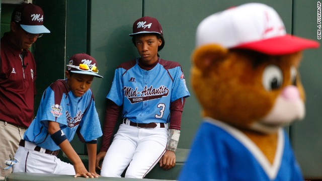 "Sports Illustrated writer Albert Chen says of the 13-year-old phenom in his cover story: ""She's a lot of things to a lot of different people, all of them good things: a totem for inner-city baseball, a role model for your 10-year-old niece, a role model for your 10-year-old nephew."""