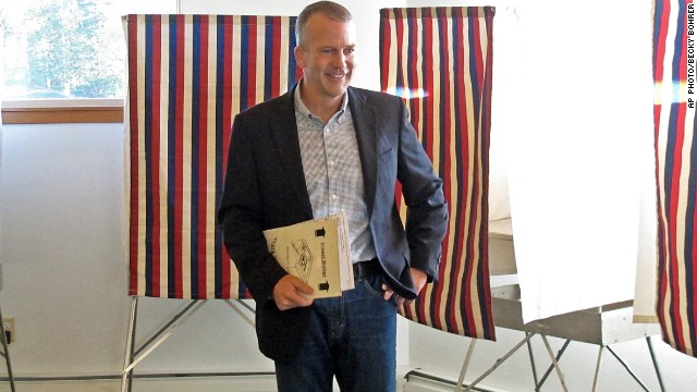 GOP challenger Dan Sullivan leads Mark Begich in Alaska Senate race