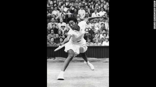 Google has honored American tennis legend Althea Gibson with one of its famous doodles on what would have been her 87th birthday, August 25. Gibson became the first person of color to win a Grand Slam event at the French Open in 1956. She went on to win at Wimbledon and the U.S. Open.