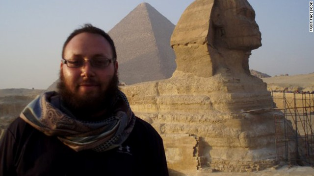Freelance American journalist Steven Sotloff, seen here in a photo from Facebook, disappeared during a reporting trip to Syria in August 2013. His family kept the news a secret until August 2014, when he was seen at the end of a video from the Islamic extremist group ISIS. That video showed the beheading of journalist James Foley. On Tuesday, September 2, ISIS published another video showing what appeared to be Sotloff's beheading.