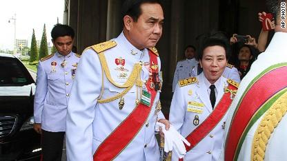 Thai coup leader named prime minister