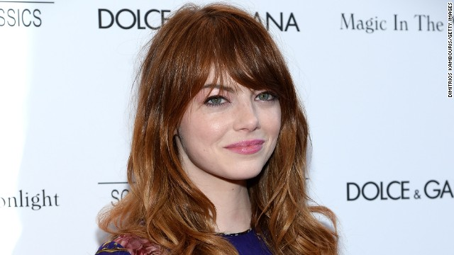Emma Stone attends the 'Magic In The Moonlight' premiere at the Paris Theater in July 2014 in New York City.