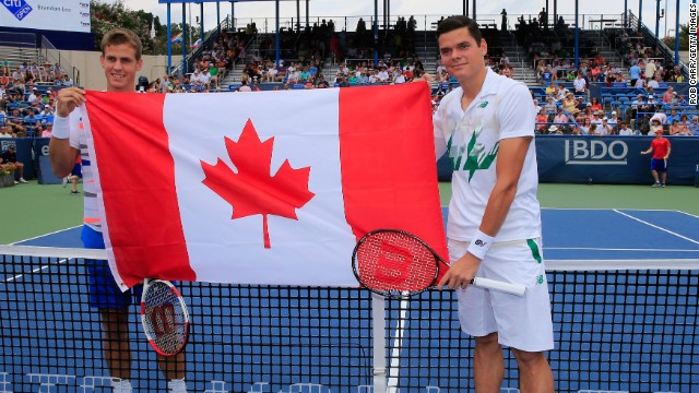 After Wimbledon, in Washington, Raonic and Pospisil took part in the first all-Canadian singles final. Raonic defeated his compatriot 6-1 6-4 at the hard-court event.