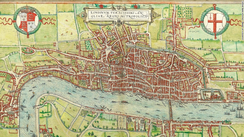 9 maps that reveal London's secret history, from Shakespeare till today