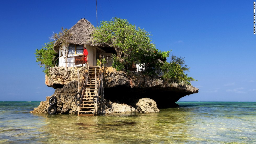 Restaurante The Rock - Zanzíbar, Tanzania