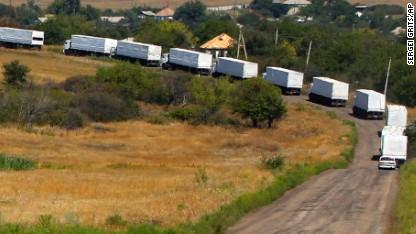 Ukraine: Russian convoy an 'invasion'