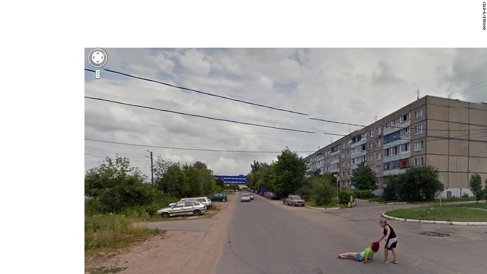 Colección de imágenes extrañas de Google Maps