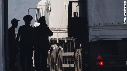 Pentagon condemns Russian convoy movement
