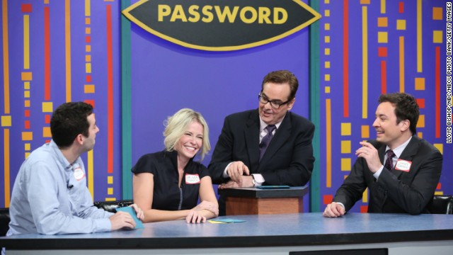 "Handler had become such a popular presence on late-night TV that many were pulling for her to make the jump from cable to broadcast when Jimmy Fallon announced he was leaving ""Late Night"" in 2013. Here, she joins Fallon and Steve Higgins on NBC's ""Late Night"" in November 2012. The show was eventually taken over by ""Saturday Night Live's"" Seth Meyers."