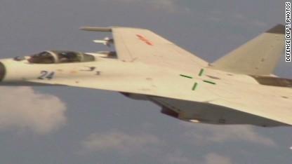 Chinese jet intercepts U.S. aircraft