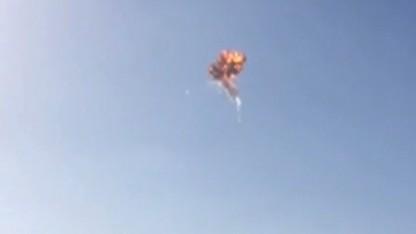 SpaceX rocket explodes in test flight