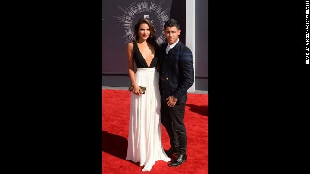 Olivia Culpo and Nick Jonas