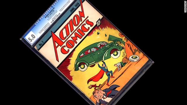 Comic original de Superman se vende por un récord de 3,2 millones de dólares