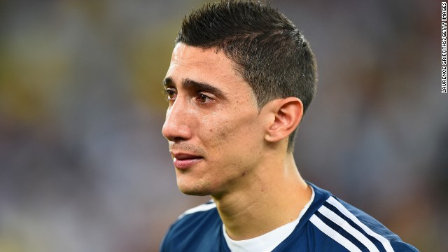 Di Maria was unable to help Argentina overcome Germany in the World Cup final as it was beaten 1-0 in extra-time.