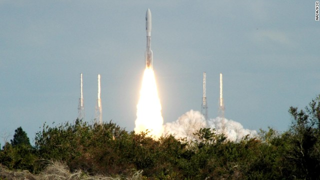 New Horizons was launched from Kennedy Space Center in Florida on January 19, 2006, on a 10-year, 3-billion-mile journey to Pluto.