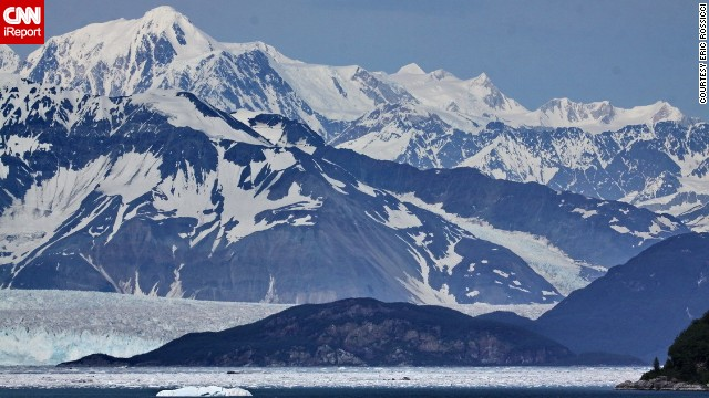 "The towering glaciers of Alaska are ""a sight to behold,"" according to Eric Rossicci, who shot <a href='http://ireport.cnn.com/docs/DOC-1003545'>this photo</a> during a 2013 cruise. Most visitors to Alaska's 3.3-million acre Glacier Bay National Park travel by boat."