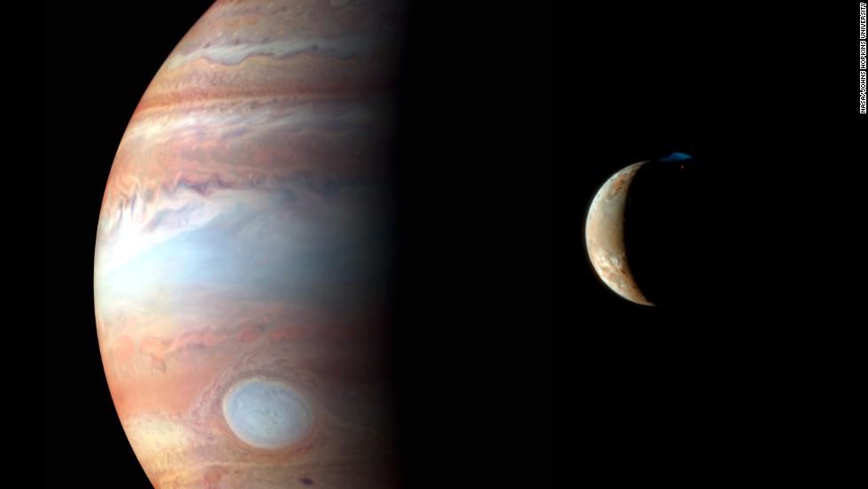 Plutón en el horizonte