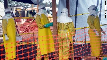 No way out of Ebola quarantine zone