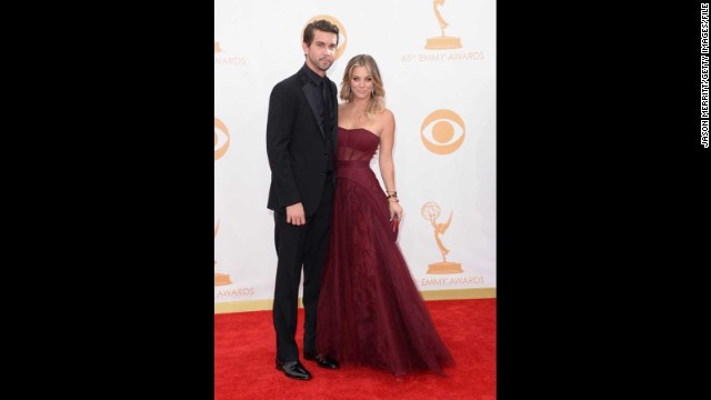 Kaley Cuoco and her now-husband Ryan Sweeting were a sight for sore eyes at the 2013 Emmy Awards.