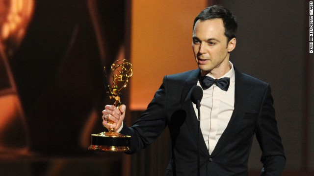 "Outstanding Lead Actor in a Comedy Series: Jim Parsons, ""The Big Bang Theory"""