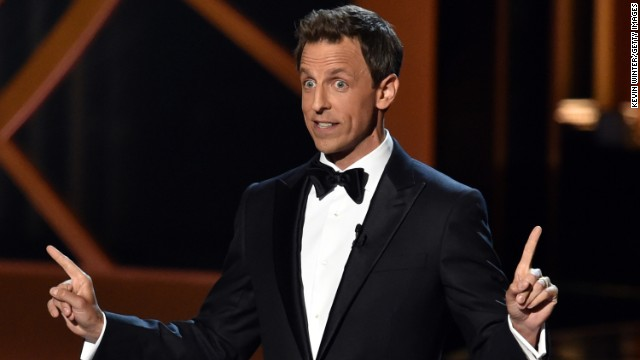 "The winners at the 66th Primetime Emmy Awards gave us déjà vu, but at least the show itself was fresh. Host Seth Meyers opened with well-aimed jokes, including some about the Emmys show itself. ""This year we're doing the Emmys on a Monday night in August, which if I understand television means the Emmys are about to get canceled,"" the ""Late Night"" host quipped. Here are a few other memorable moments:"