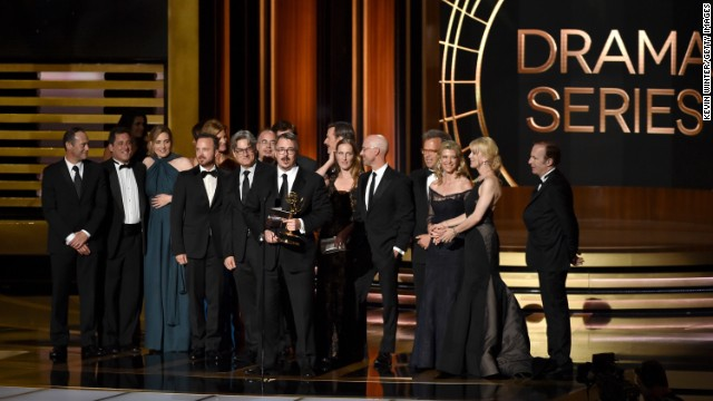 Winners of the 2014 Emmys