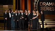 """""""Breaking Bad"""" concluded its triumphant run last year as one of the most lauded TV series of all time at Monday's 66th Primetime Emmy Awards."""