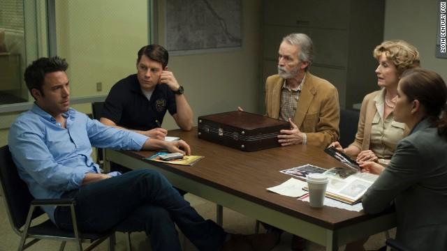 Ben Affleck (left) stars as Nick Dunne in