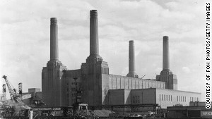 Battersea Power Station in 1950