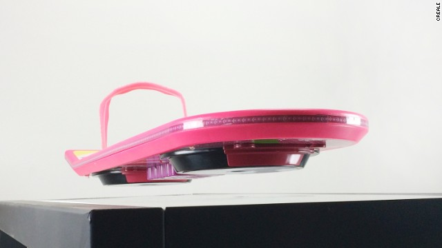 After Mattel released its Back to the Future Hoverboard (which didn't hover at all), Crealev attempted to save the day with a working version. Unfortunately, you can't ride it.